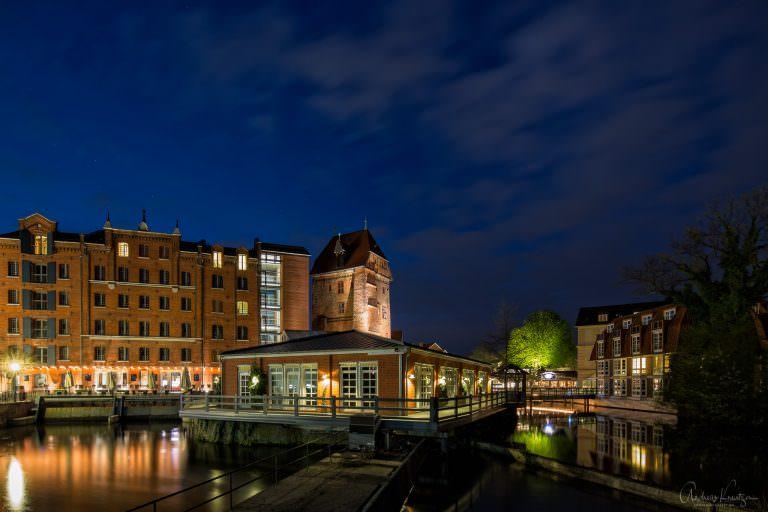 Abtsmühle und Ilmenau in Lüneburg