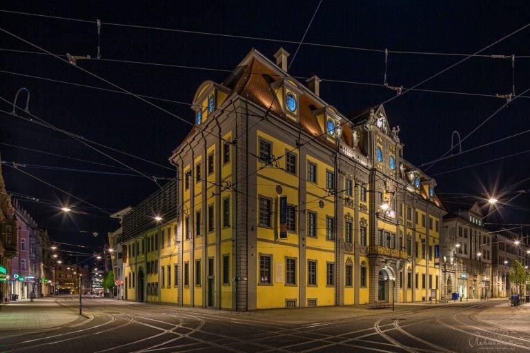 Angermuseum bei Nacht