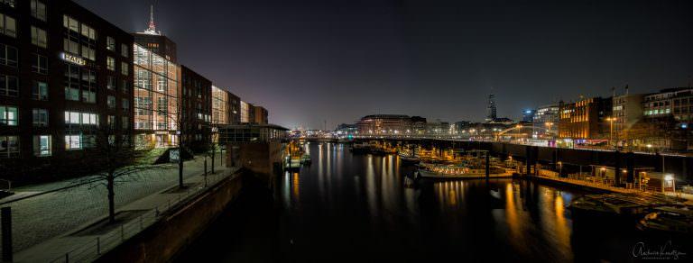Blick auf den Binnenhafen