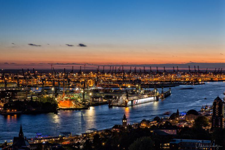 Blick auf den Hafen I