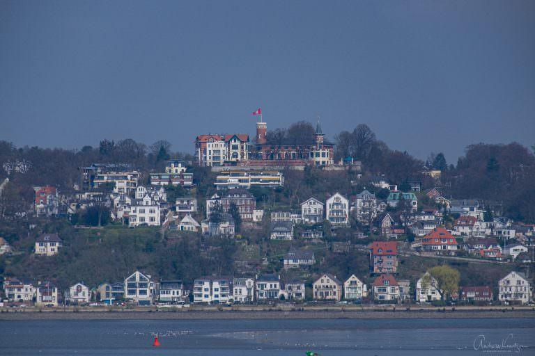 Blick auf den Süllberg
