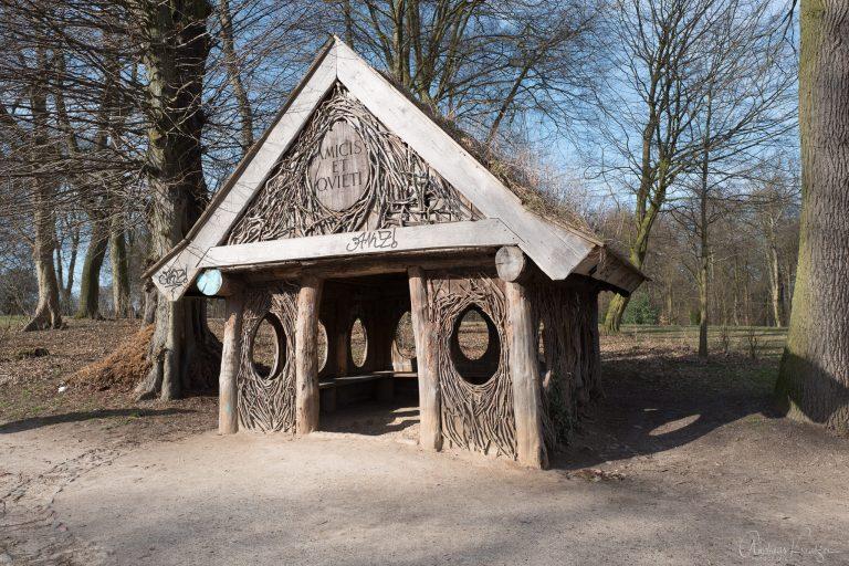 Die Eierhütte im Jenisch Park