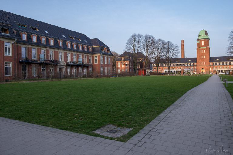 Ehemaliges Wirtschaftsgebäude vom AK Barmbek