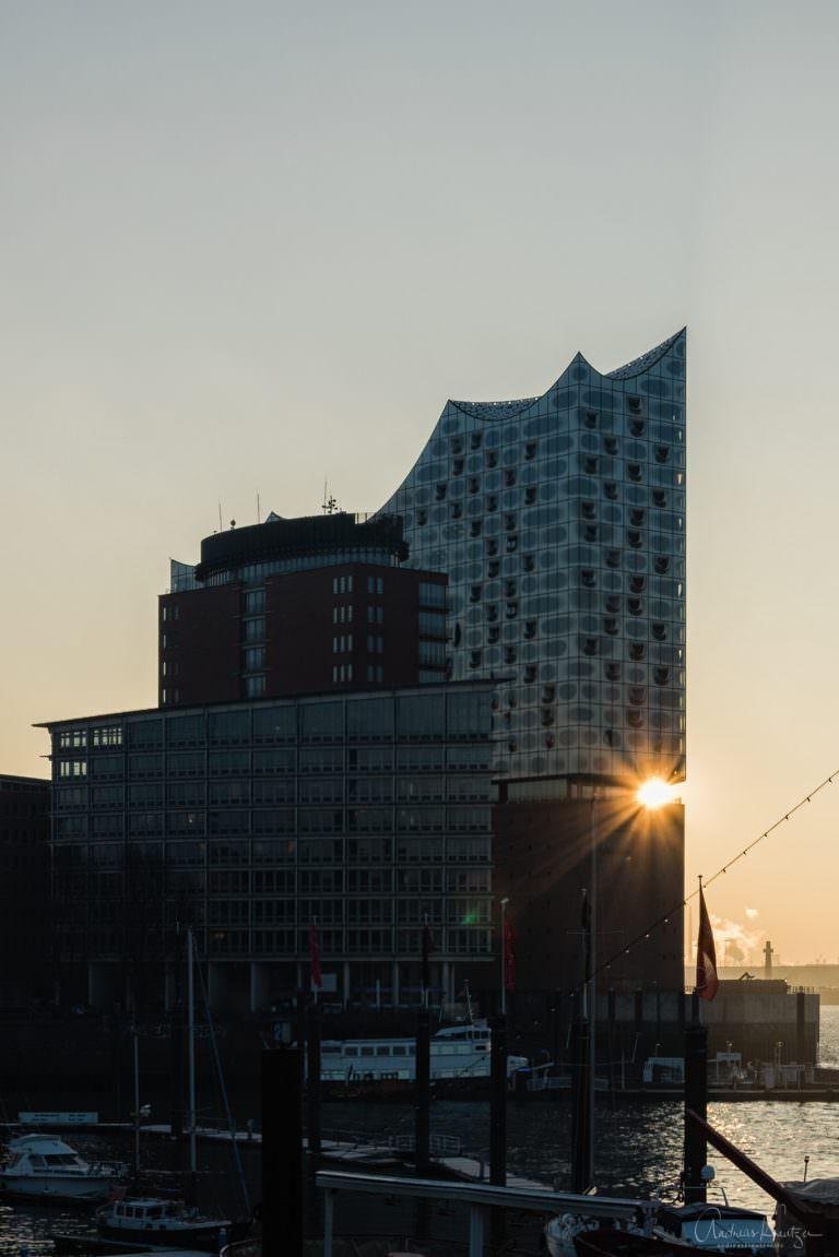 Elbphilharmonie am Morgen