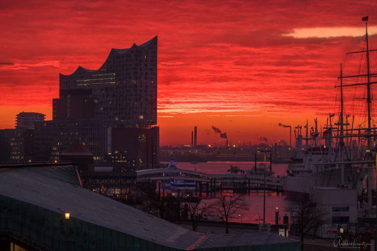 Elbphilharmonie im Morgenlicht