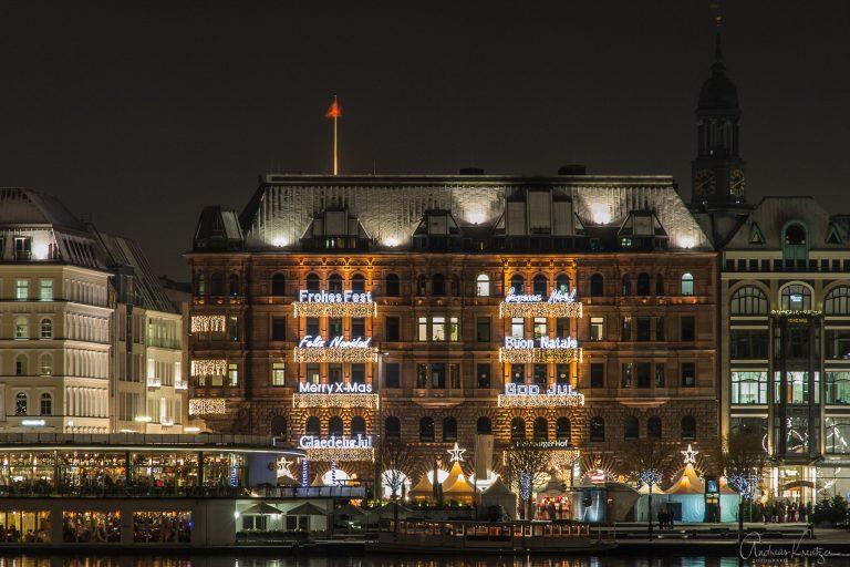 Hamburger Hof zu Weiihnachten