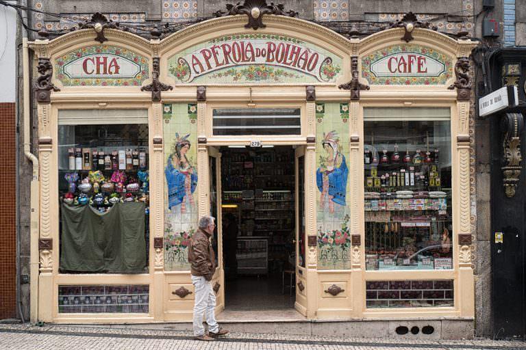 Geschäft in Porto