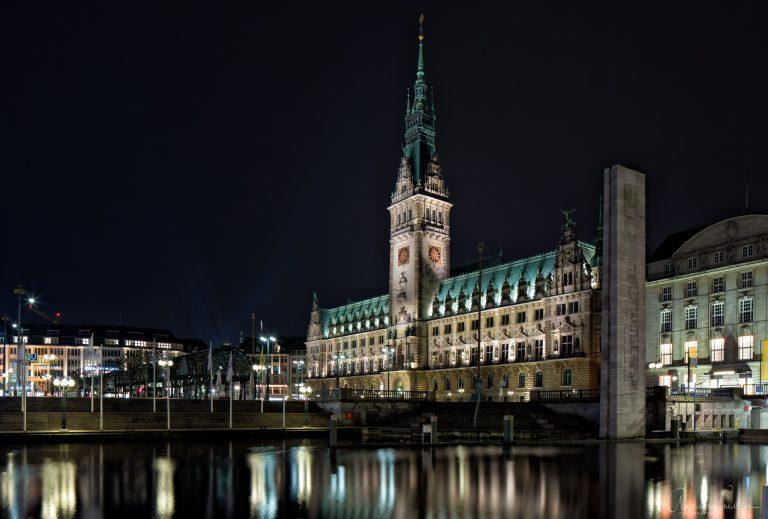 Hamburger Rathaus XI