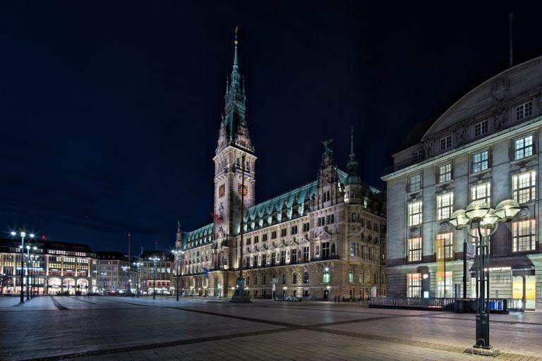 Hamburger Rathaus XIII