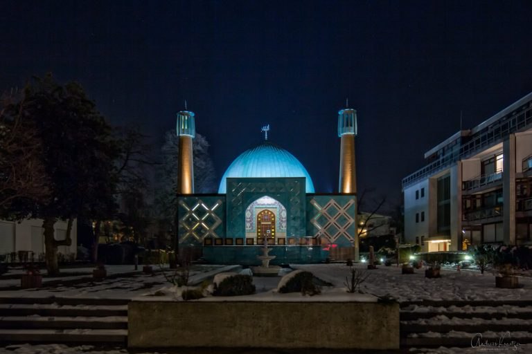 Imam-Ali-Moschee im Winter