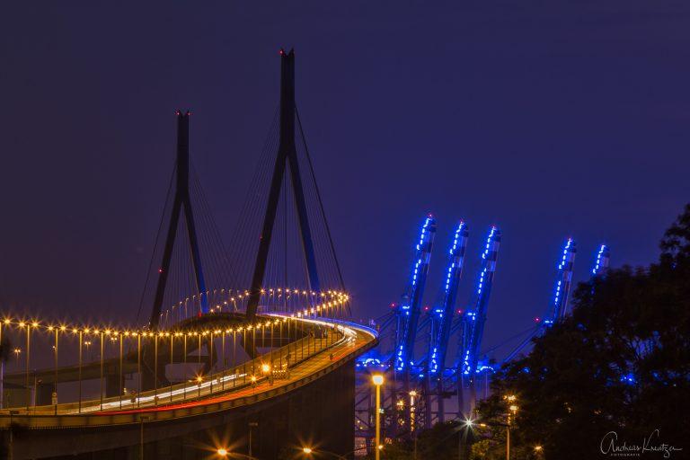 Köhlbrandbrücke - Blue Port III