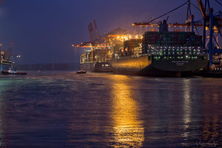 Morgens im Hafen