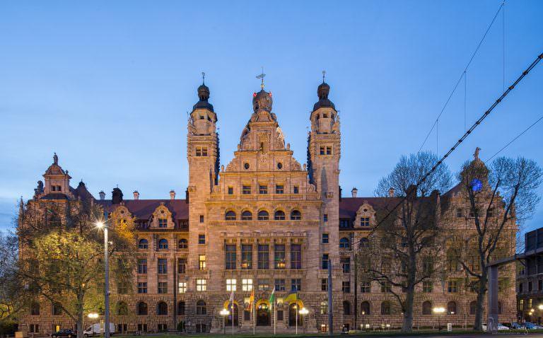 Neues Rathaus in Leipzig I