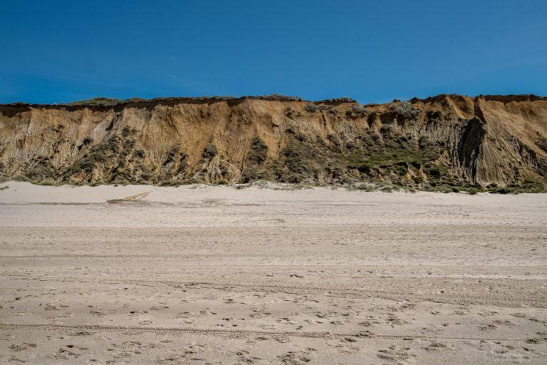 Rotes Kliff bei Kampen auf Sylt