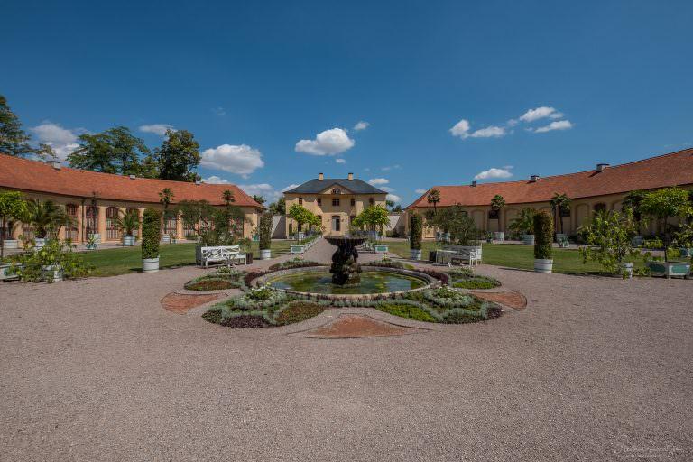 Schloss Belvedere Orangerie in Weimar