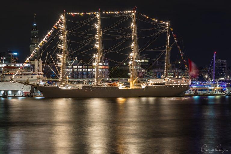 Segelschiff BAP Union in Hamburg