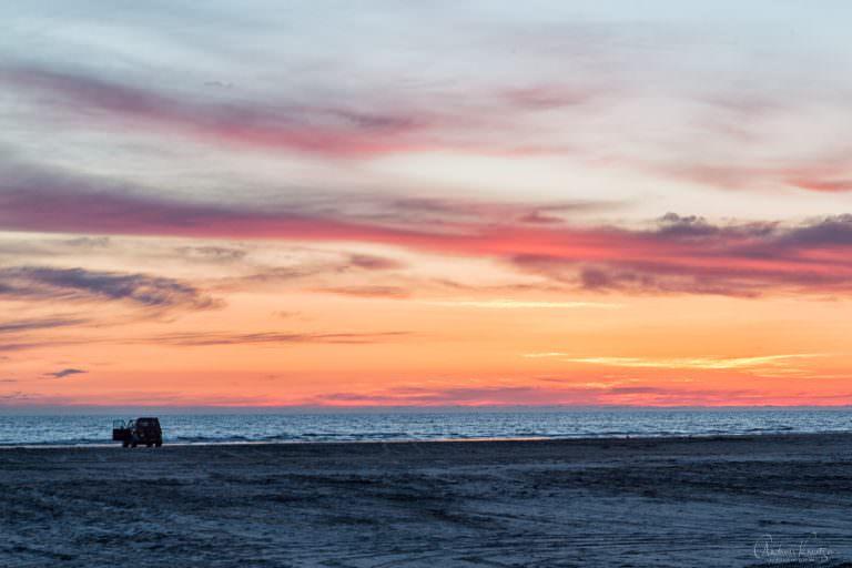 Sonenuntergang an der Nordsee