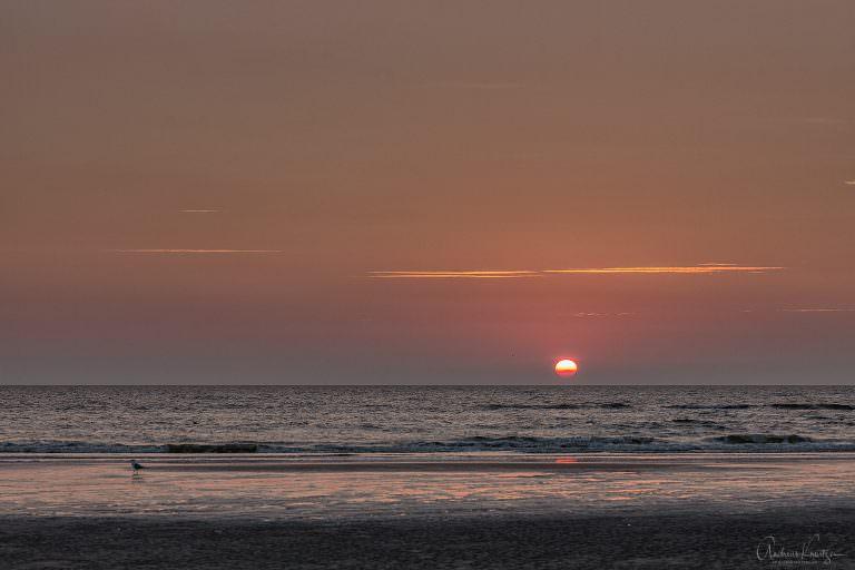 Sonnenuntergang an der Nordsee 0914