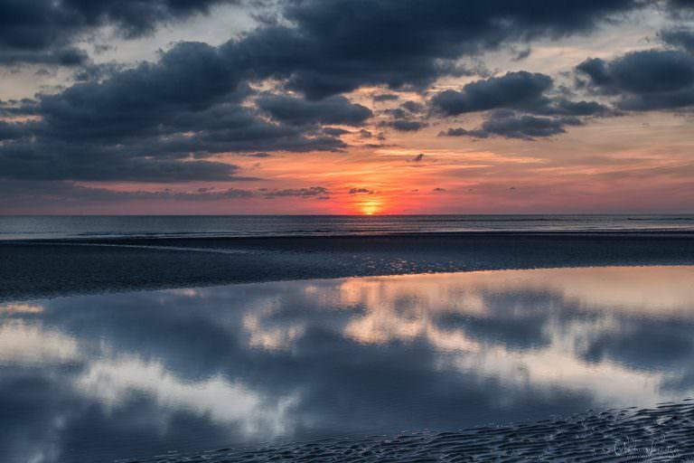 Sonnenuntergang an der Nordsee V