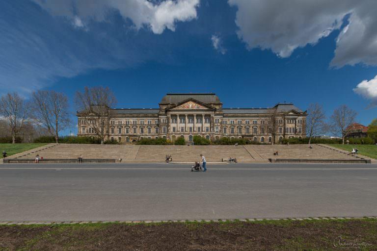 Staatsministerium in Dresden