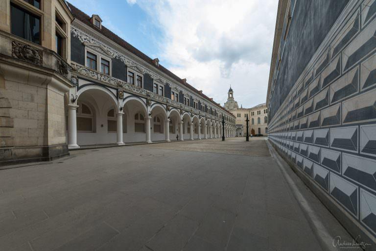 Stallhof in Dresden