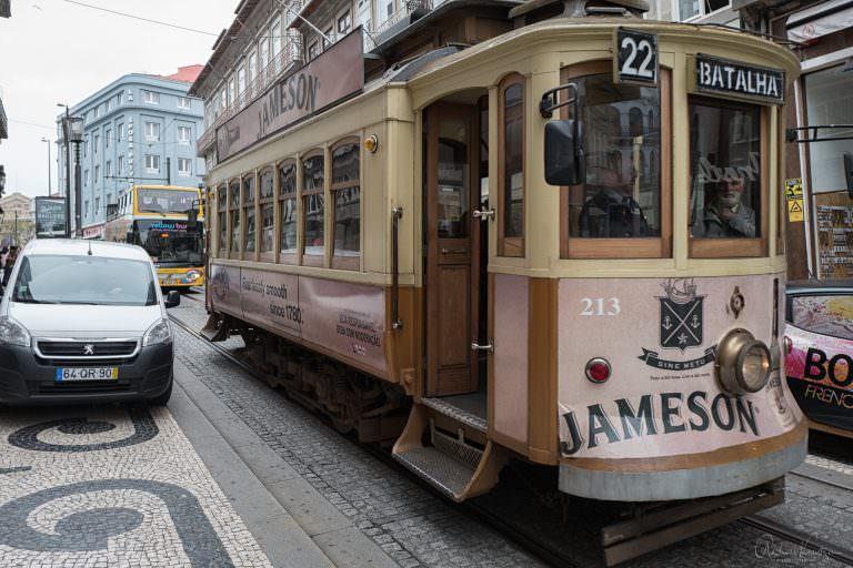 Straßenbahn in Porto