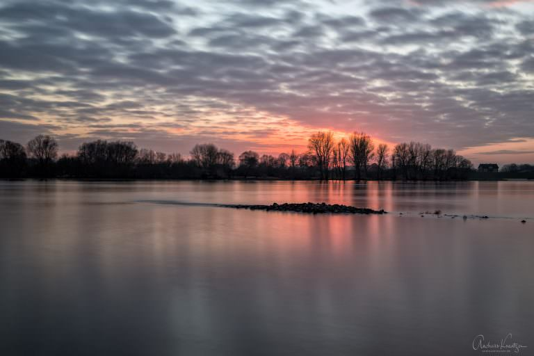 Sunset - Abends an der Elbe IV