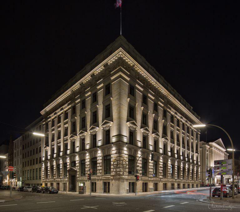Warburg Bank in Hamburg