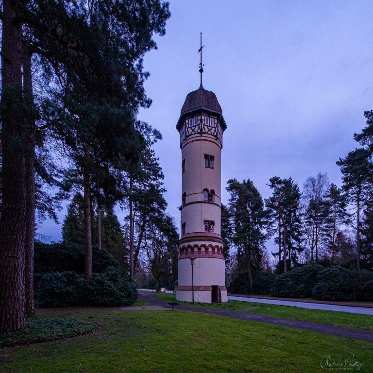 Wasserturm auf dem Ohlsdorfer Friedhof