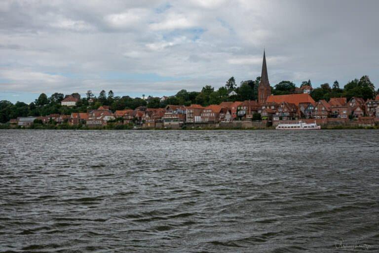 Blick auf die Altstadt von Lauenburg