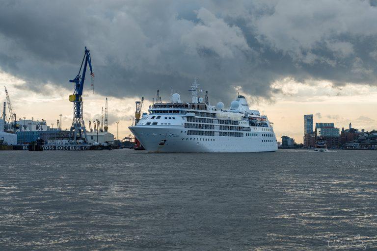 Silver Wind in Hamburg