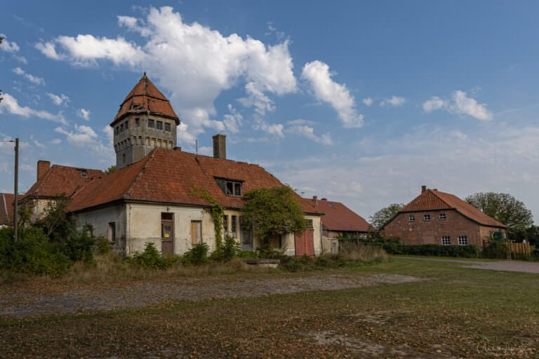 Wasserturm vom Gut Düssin