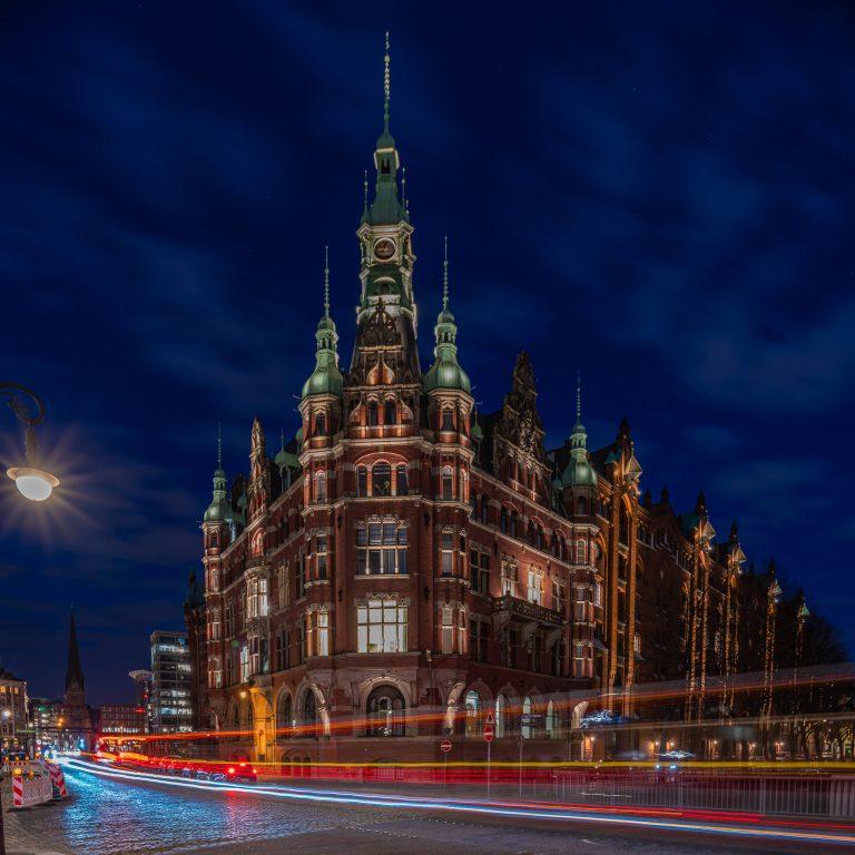 Rathaus der Speicherstadt