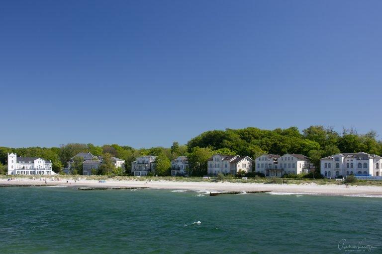 Heiligendamm - Blick auf die Strandpromenade