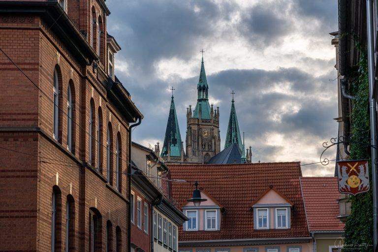 Blick auf den Erfurter Dom